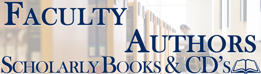 Faculty Authors Scholarly Publications