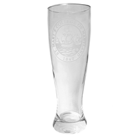 College Seal Pilsner Glass