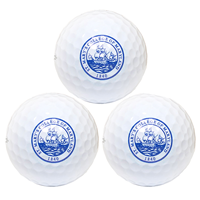 College Seal Golf Balls 3 Pack