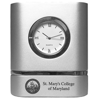 College Seal HW Desk Clock Trillium