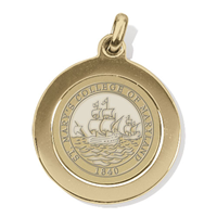 College Seal Charm Pendant