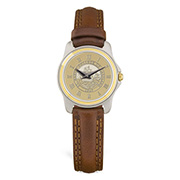 Lady Watch Brwn Gold Seal Gold Seal Center