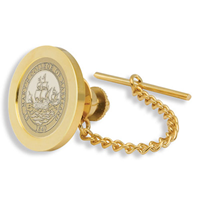 College Seal Tie Tac