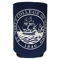 College Seal Can Koozie