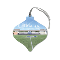 College Seal Ceramic Ornament