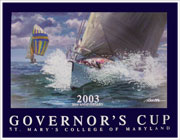 Gov Cup '03 Framed