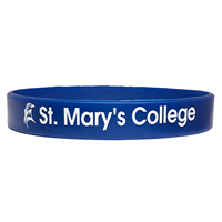 St. Mary's Silicone Bracelet