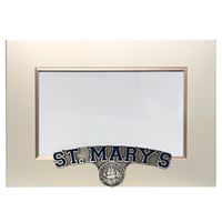 St. Mary's 4X6 Pewter Picture Frame
