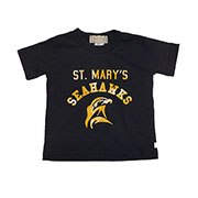 Arched Seahawk Kids Tee