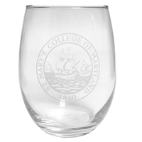 Stemless Wine Glass (Simulated Etch)