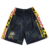 Maryland Flag Trim Short