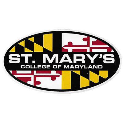 Maryland Smcm Oval Magnet (SKU 1089031810)