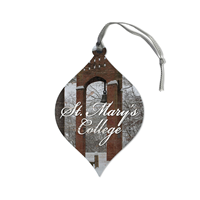 Bell Tower Teardrop Ornament