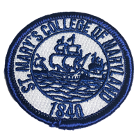 College Seal Iron On Patch