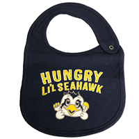Infant Hungry Li'l Seahawk Bib