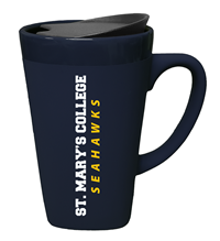 St. Mary's Soft Touch Ceramic Travel Mug