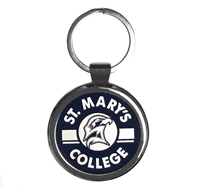 St. Mary's Metal Keytag