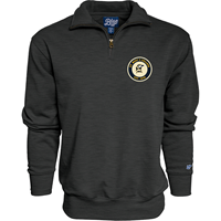 Retro Patch 1/4 Zip Fleece